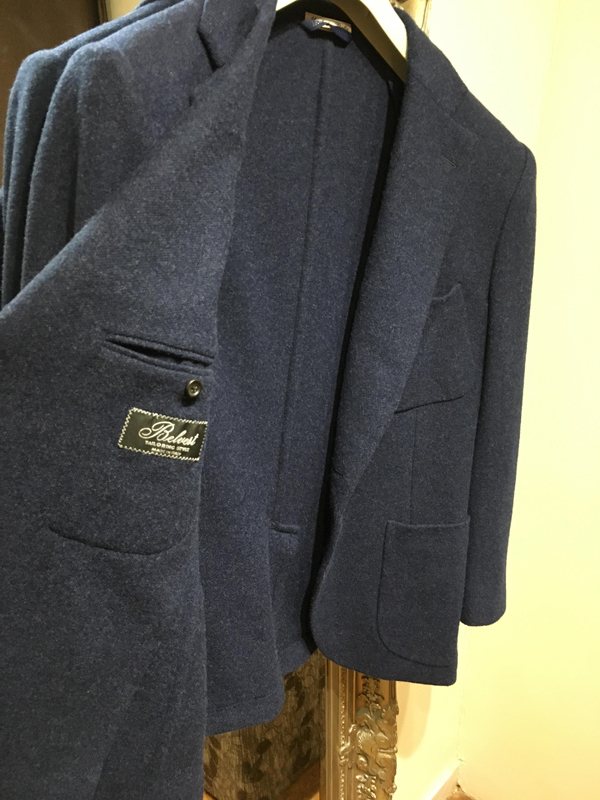 Suit being altered in our Worcester shop