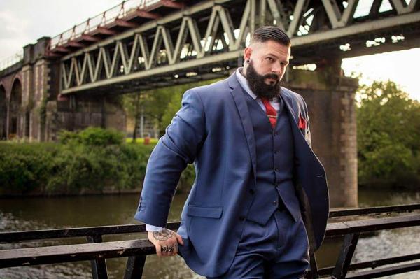 Will Dermietzel in tailored suit