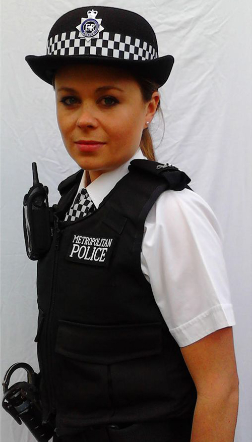Policewoman in Uniform